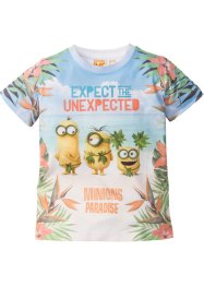 "T-shirt ""MINIONS"", Despicable Me, Bianco / multicolore ""MINIONS"""