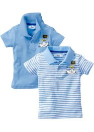 Polo in cotone biologico (pacco da 2), bpc bonprix collection