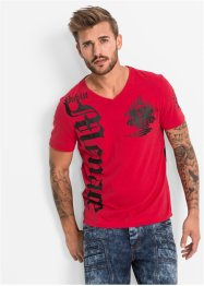 T-shirt slim fit, RAINBOW, Rosso