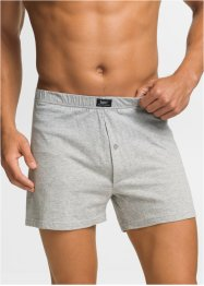 Boxer largo in jersey (pacco da 4), bpc bonprix collection