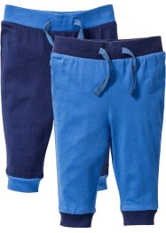 Pantalone in jersey (pacco da 2) in cotone biologico, bpc bonprix collection