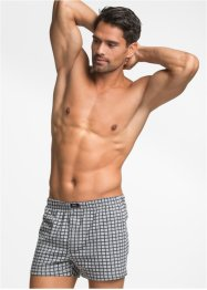 Boxer largo (pacco da 3), bpc bonprix collection, Grigio / antracite