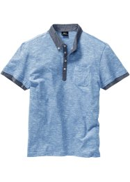 Polo con colletto in tessuto, bpc bonprix collection