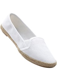 Mocassino sportivo, bpc bonprix collection, Bianco