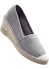 Espadrillas con zeppa, bpc bonprix collection
