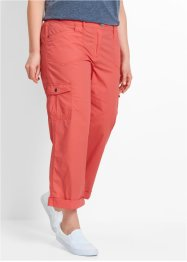 Pantalone cargo 7/8 in popeline, bpc bonprix collection