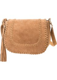 Borsa shopper in pelle, bpc bonprix collection