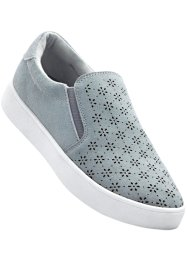 Mocassino sportivo in pelle, bpc bonprix collection