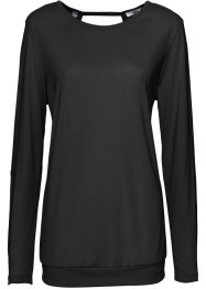 Maglia a manica lunga da wellness, bpc bonprix collection