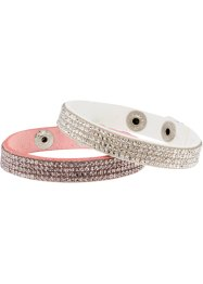 Bracciali (set 2 pezzi), bpc bonprix collection