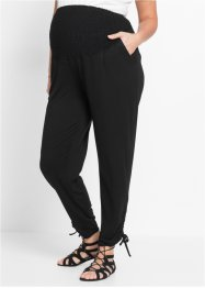 Pantalone prémaman elasticizzato, bpc bonprix collection, Nero
