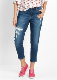 Jeans girlfriend 7/8 Maite Kelly, bpc bonprix collection, Blu stone