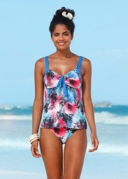 Top per tankini, bpc bonprix collection, Blu / rosso