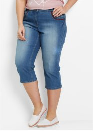 Pinocchietto in jeans, bpc bonprix collection, Blu stone