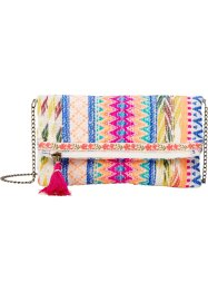 Pochette in stile etnico, bpc bonprix collection, Multicolore