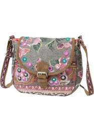Borsa a tracolla con ricamo e paillettes, bpc bonprix collection