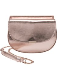 Borsa a tracolla metallizzata, bpc bonprix collection