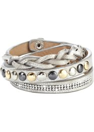 Bracciale con borchie, bpc bonprix collection