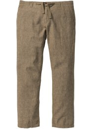 Pantalone in misto lino regular fit, bpc selection