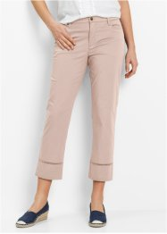 Pantalone elasticizzato 7/8, bpc bonprix collection, Beige