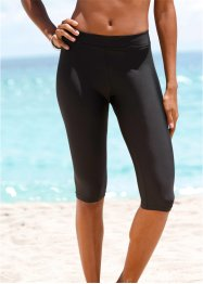 Leggings da bagno, bpc bonprix collection, Nero