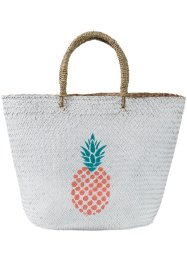 Borsa da spiaggia con stampa, bpc bonprix collection