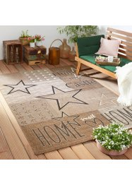 Tappeto con stelle da interno ed esterno, bpc living bonprix collection
