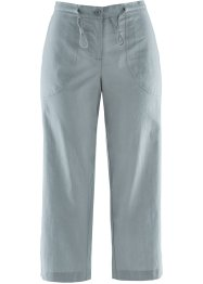 Pantalone 3/4 in misto lino, bpc bonprix collection