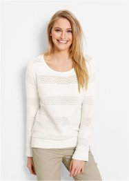 Pullover, bpc bonprix collection, Bianco panna