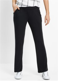 Pantalone in jersey, bpc bonprix collection, Nero