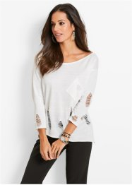 Pullover, bpc selection, Bianco