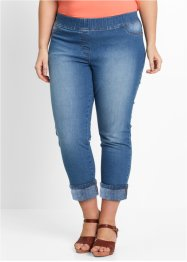 Jeggings 3/4, bpc bonprix collection, Medium blu bleached