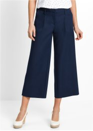 "Pantalone elasticizzato 7/8 ""largo"", bpc bonprix collection, Blu scuro"