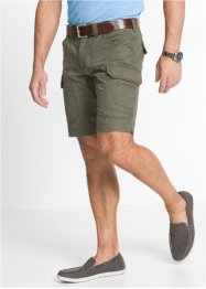 Bermuda cargo loose fit, bpc selection, Verde oliva scuro