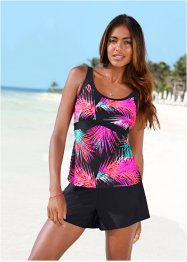 Top per tankini, bpc bonprix collection, Fucsia / nero