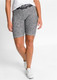 Pantaloncino ciclista da yoga, bpc bonprix collection