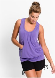 Top da wellness, bpc bonprix collection, Viola chiaro
