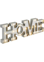 "Scritta con LED ""Home"", bpc living"