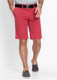 Bermuda chino in microfantasia slim fit, bpc selection