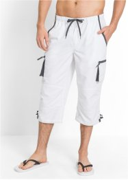 Pantalone 3/4 con elastico regular fit, bpc bonprix collection