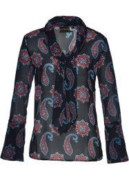 Blusa con fiocco in fantasia paisley, bpc selection
