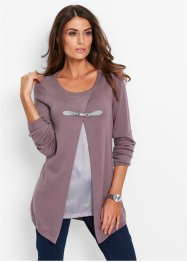 Pullover in look doppiato, bpc selection premium