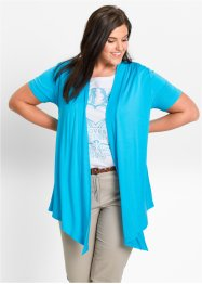 Cardigan in maglina a mezza manica, bpc bonprix collection