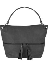 Borsa con cerniera e nappine, bpc bonprix collection