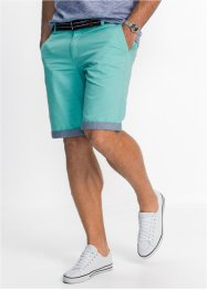 Bermuda chino con risvolto regular fit, bpc bonprix collection