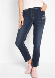 Jeans elasticizzato 7/8 boyfriend, bpc bonprix collection