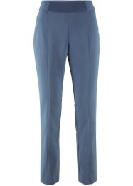 Pantalone 7/8 in bengalina con elastico, bpc bonprix collection