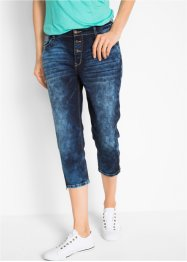 Pinocchietto di jeans elasticizzato boyfriend, bpc bonprix collection