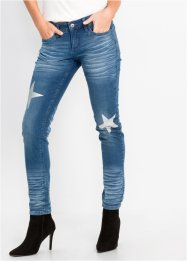 Jeans skinny con stelle, RAINBOW