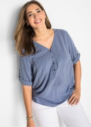 Blusa con manica a 3/4, bpc bonprix collection
